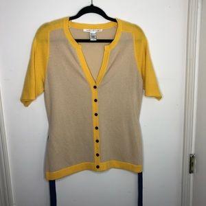 Diane von Furstenberg Cashmere Cardigan Sweater